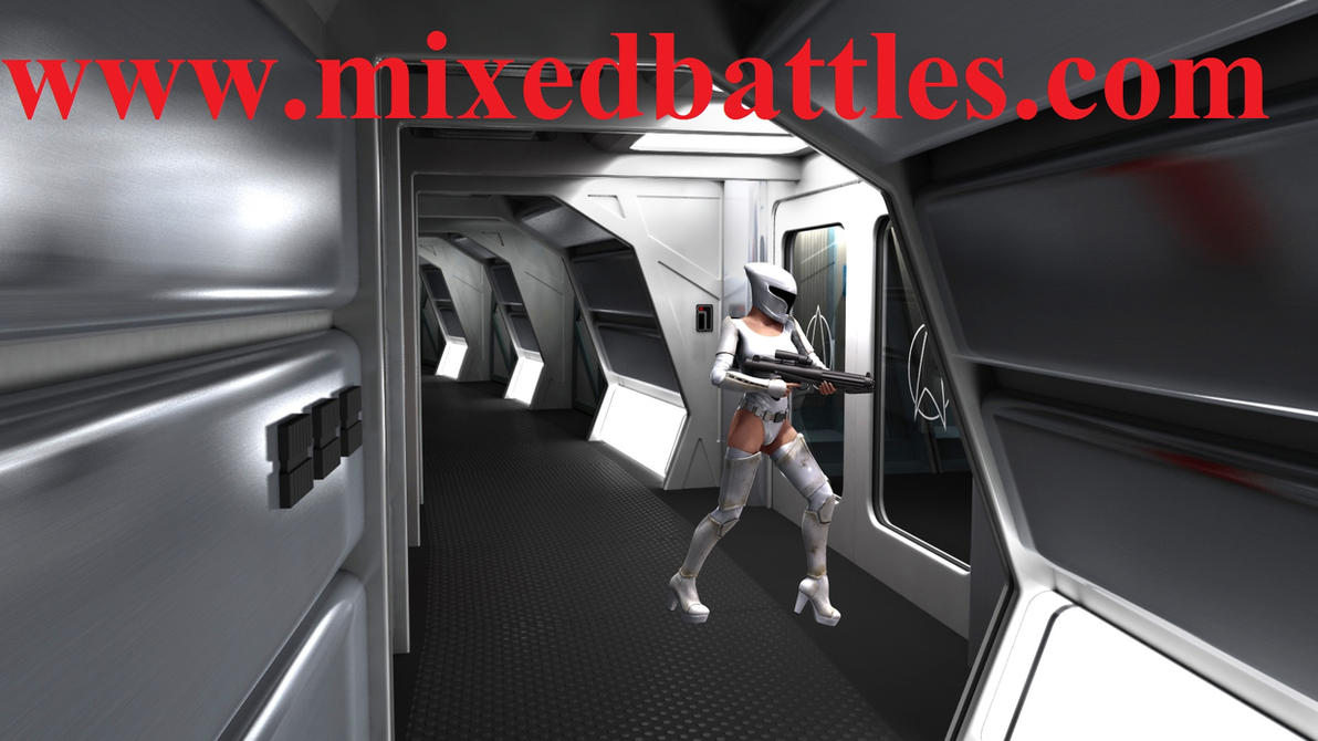 http://mixedbattles.com star wars female trooper by q1911