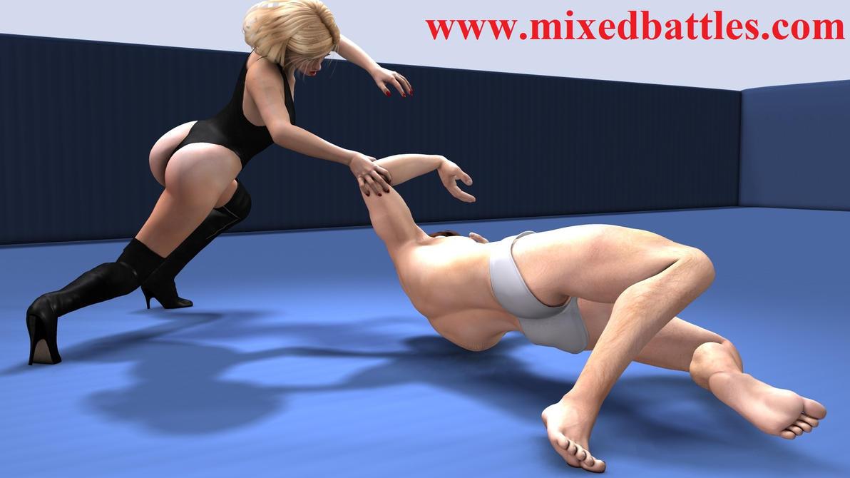http://mixedbattles.com striptease mixed wrestling by q1911