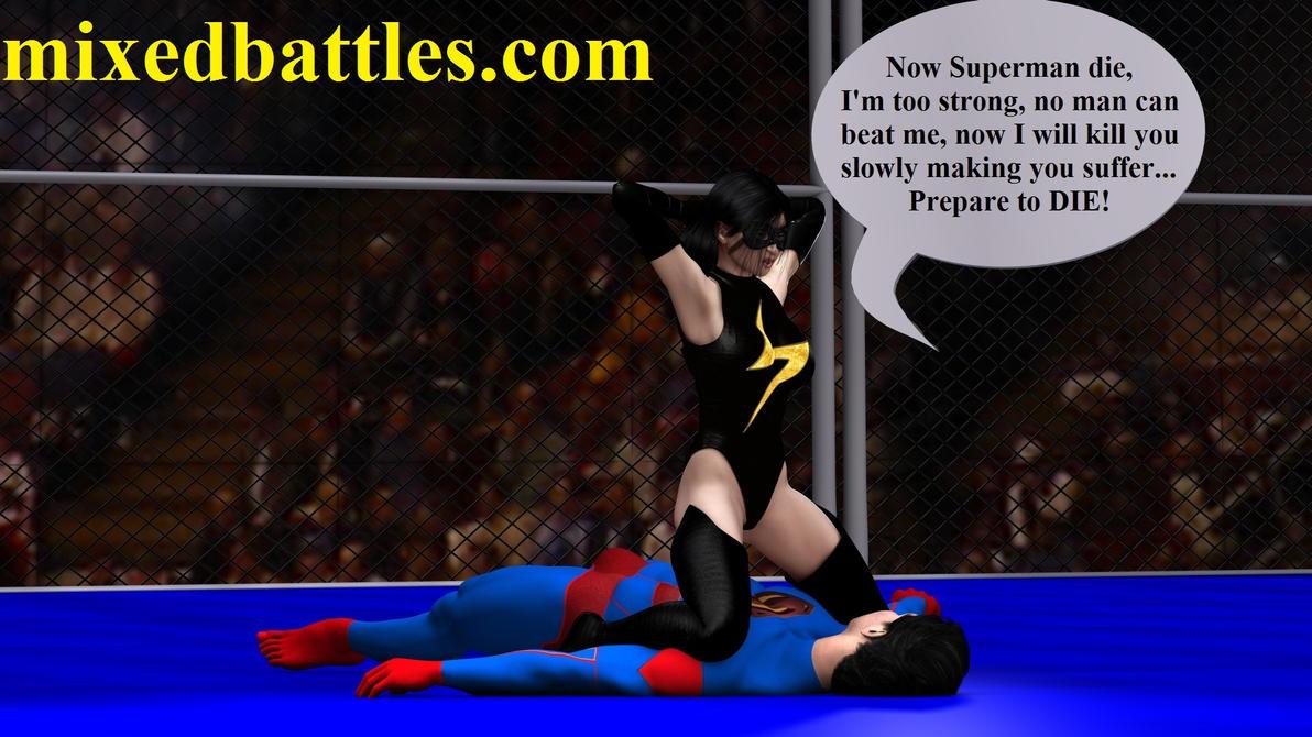 http://mixedbattles.com superheroes mixed fight by q1911
