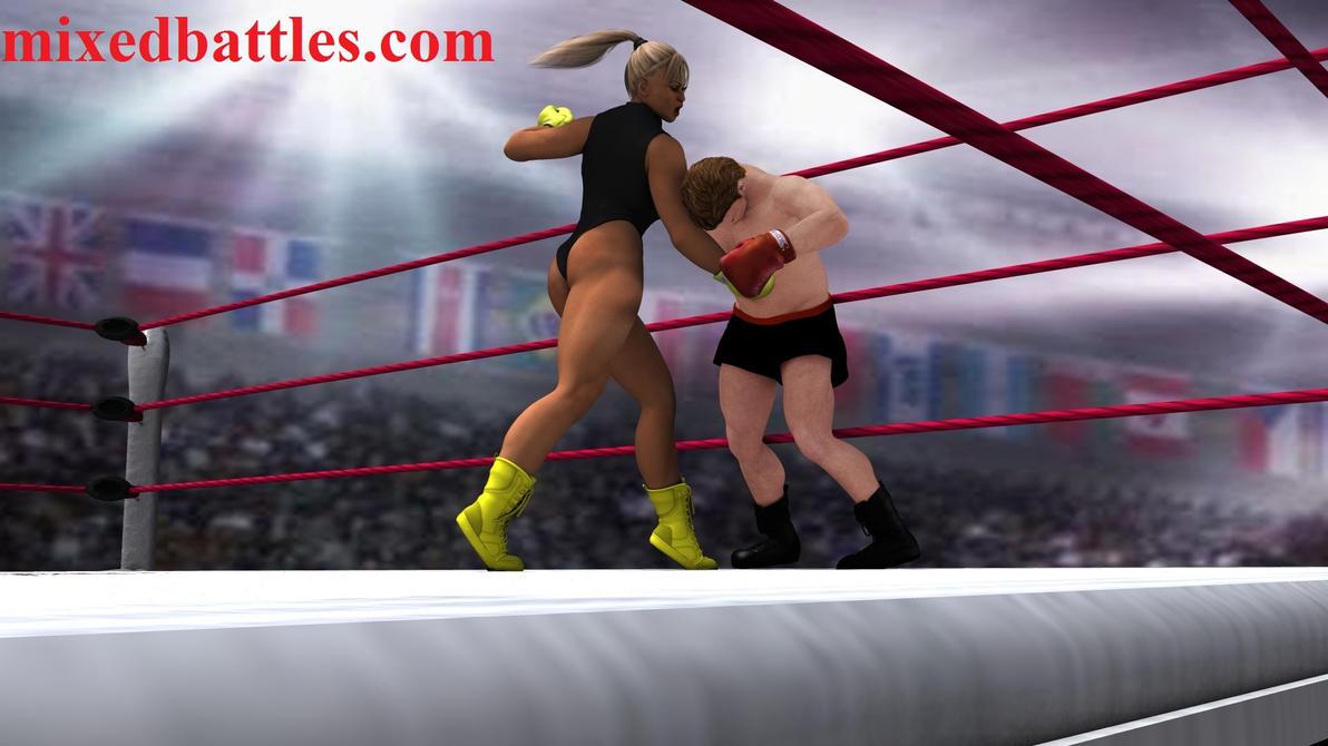 http://mixedbattles.com intergender boxing femdom by q1911