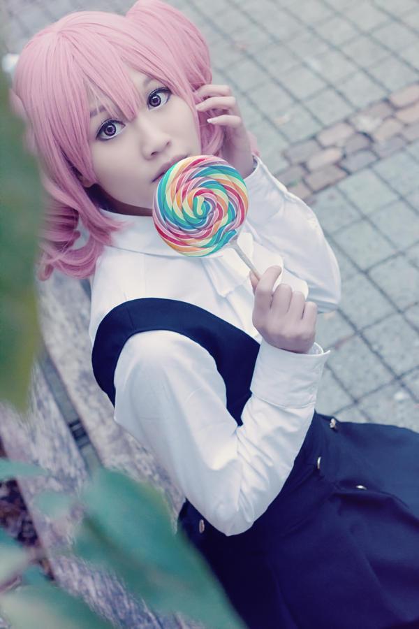 Karuta Roromiya (InuxBoku SS) - I love Lollipops by CupcakeStar-Xx