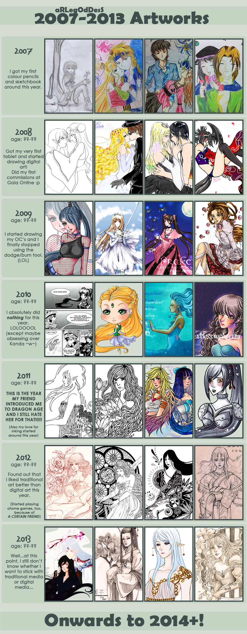 Art Improvement 2007-2013 by aRLegOdDesS