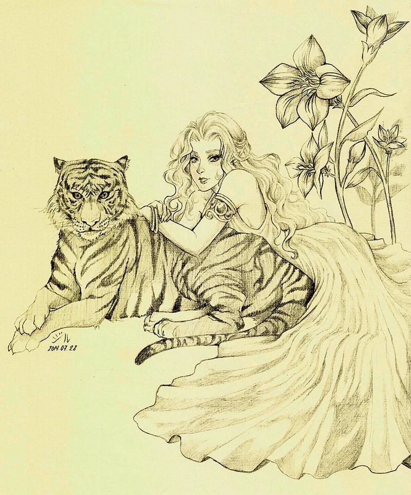 Tamed Tiger by aRLegOdDesS