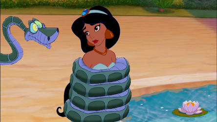 Kaa And Jasmine by danieltorresmen