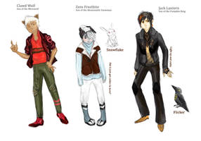 MHdesigns- Manster OCs by herby62