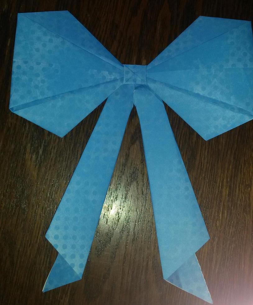 Origami bow tie by chitanoyume on deviantart