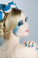 Cakes - Blue Cupcakes I by KiaraBlackPhotograph
