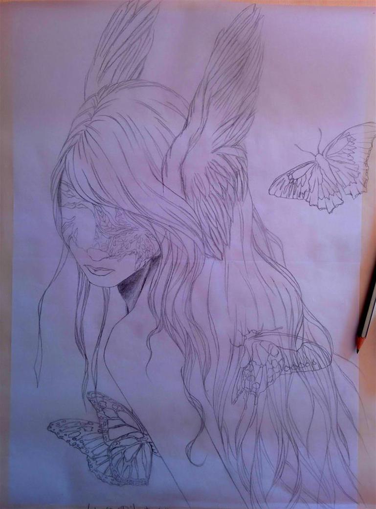 Blind Sketch by AntonellaDAmato