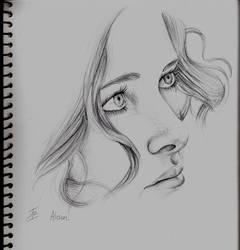 Scribble-frapp by DarkButSoLovely