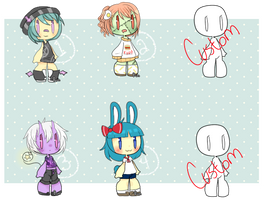 Batch Adopts [CLOSED] by BunsDream