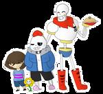 Happy Family [UNDERTALE]