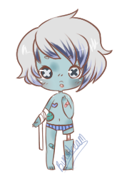 Zombie Bab Adopt [250pts] by BunsDream