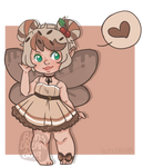 Chocolate Cherry Adopt Auction [OPEN] by BunsDream