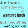 Just Wait icon by LuciaPendant