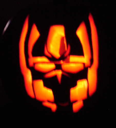 Optimus Pumpkin by DarthZemog