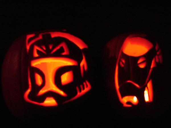 Clone Wars Pumpkins By Darthzemog On Deviantart