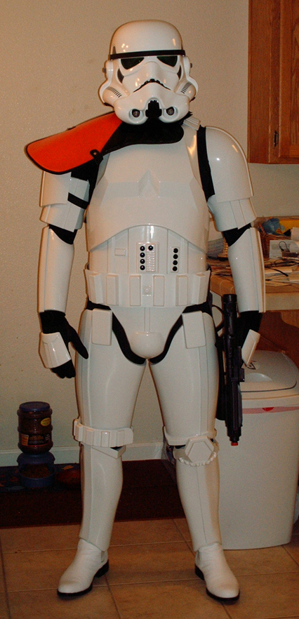 My TK Armor Front View by DarthZemog