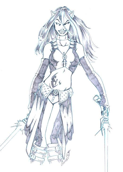 Lady Magax by DarthZemog