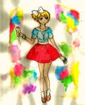 Colorful Melody by denille228