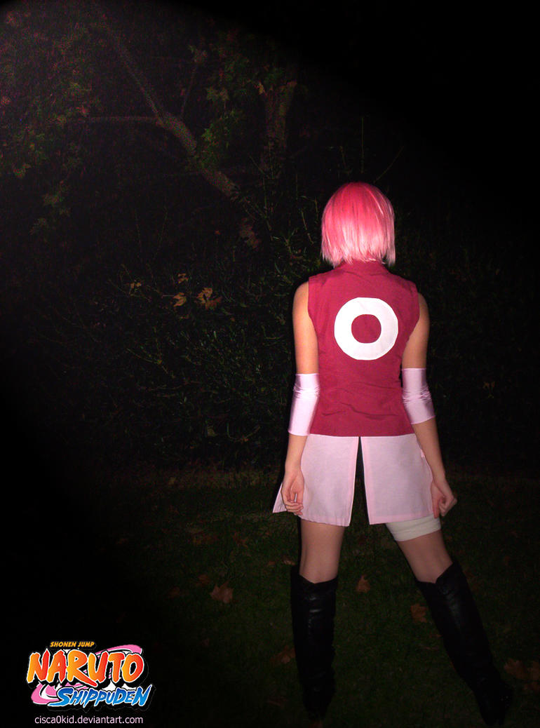 Sakura cosplay 8D by Cisca0Kid