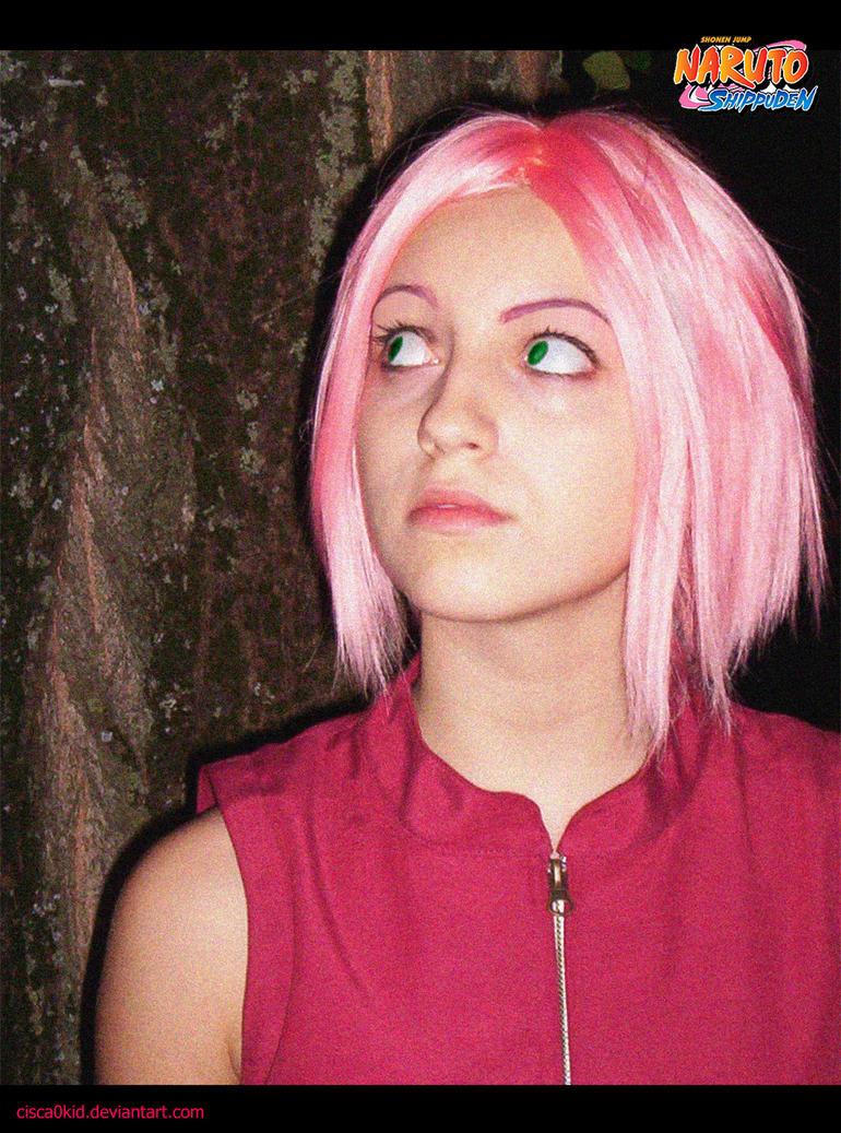 Sakura cosplay xP by Cisca0Kid