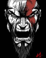 Kratos by Artjitsu