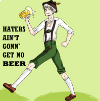 HATERS GONN' HATE. by sirseesrainbows