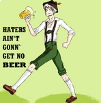HATERS GONN' HATE.