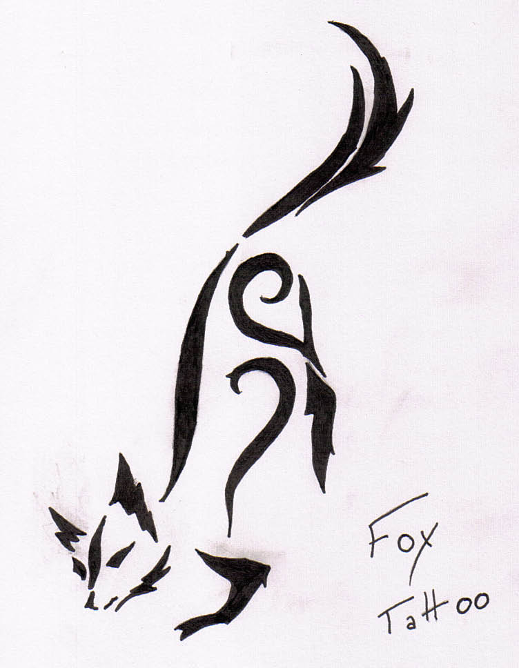 Fox Tattoo Design fox tattoo by EvilLime