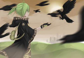I touch birds with rabies by TakoPron