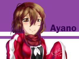 Ayano Tateyama by KuroeArt