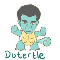 Dutertle by KuroeArt