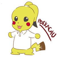 Poekachu by KuroeArt