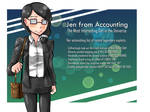 It's JEN FROM ACCOUNTING!