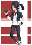 Chef-chan [OC] by KuroeArt