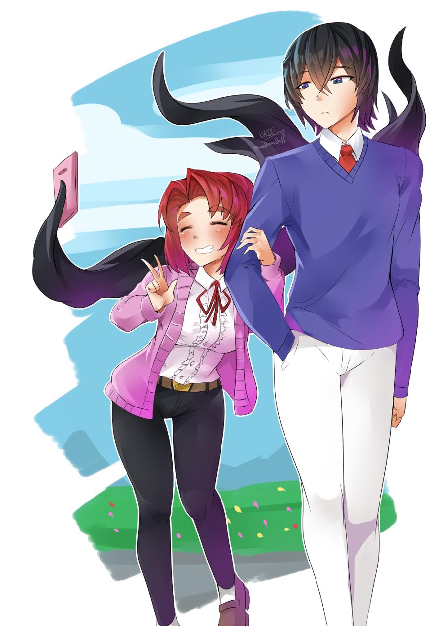 Eldritch Selfie Stick by KuroeArt