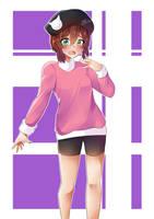 Yuzuki [OC] by KuroeArt