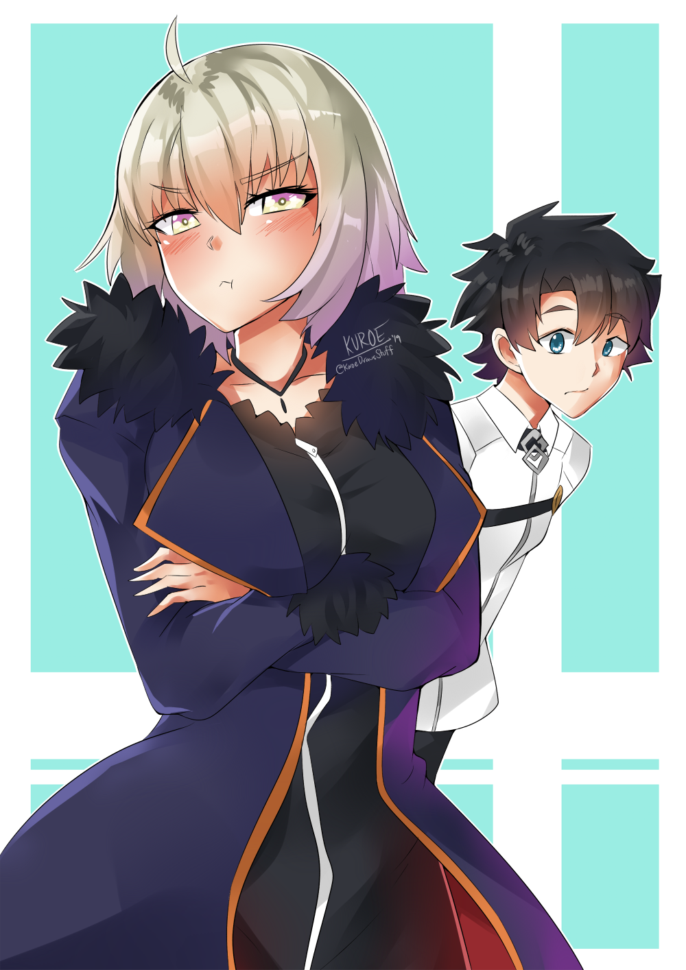 My little Avenger can't be this cute! [F/GO] by KuroeArt