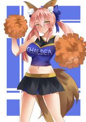 Cheery Tamamo-chan by KuroeArt