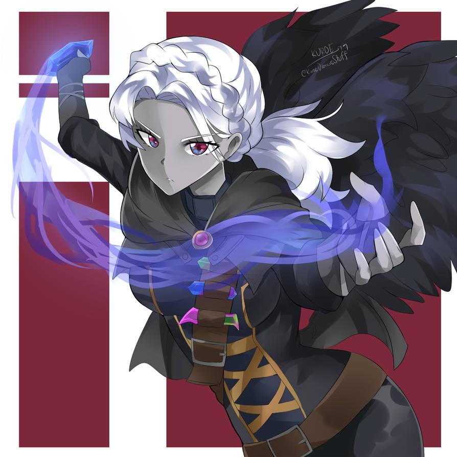 Dark Angel [OC Commission] by KuroeArt