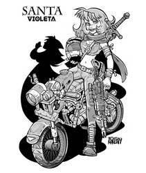Santa Violeta 47 by Fytomanga