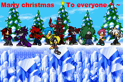 marry christmas to everyone reposted by bluehedghog