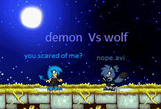 demon vs wolf lol by bluehedghog