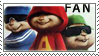 Chipmunks stamp yay by LostInDarkLight