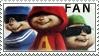 Chipmunks stamp yay by LostInDarkLight