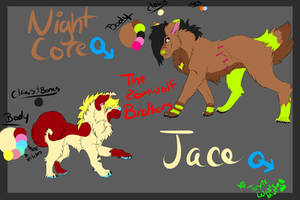 Jake And Jace REF Sheet by Toxic-Waste-Mutt