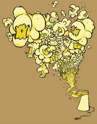 Killer Popcorn by diablien
