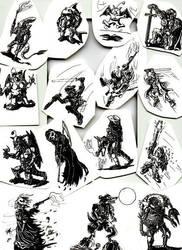 Arena profile drawings by diablien