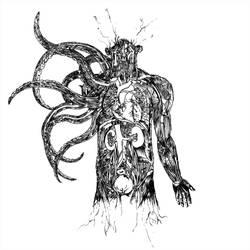 Tentacle man by diablien