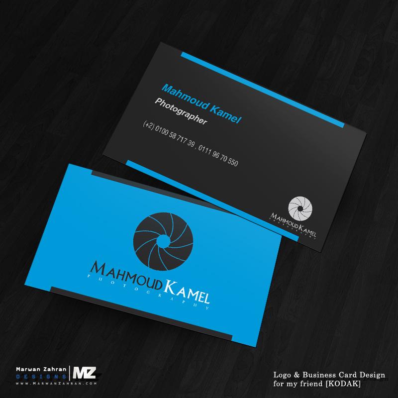 logo on business card